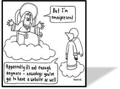 Framed omnipresent Cartoon